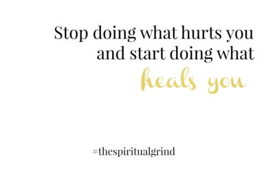 Do What Heals You